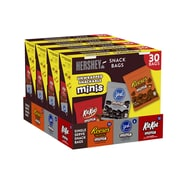 Hershey's Assorted Minis Snack Bags Variety Pack, 30 Count