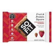 SOFIT Fruit & Protein Square, Strawberry Almond, 1.4 oz, 12 Pack
