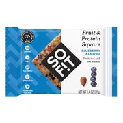SOFIT Fruit & Protein Square,Blueberry Almond, 1.4 oz, 12 Pack