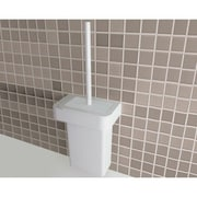 Gedy by Nameeks Nastro Fixture Mounted Toilet Brush and Holder