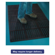 ES Robbins Pro Lite Four-Way Drain Mat, 36 X 60, Black