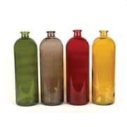 Creative Co-Op 4 Piece Glass Bottle Set