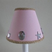 Silly Bear Glam Girl 11'' Fabric Empire Lamp Shade