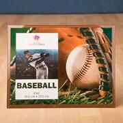 FashionCraft Fabulous Glass Baseball Picture Frame