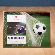 FashionCraft Fabulous Glass Soccer Picture Frame