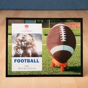 FashionCraft Fabulous Glass Football Picture Frame