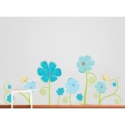 Wall Decal Source Flower and Butterfly Wall Decal; Scheme C