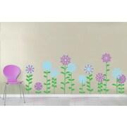Wall Decal Source Flower Vinyl Wall Decal; Scheme B