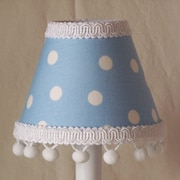 Silly Bear Little Boy 11'' Fabric Empire Lamp Shade
