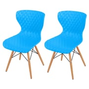 New Pacific Direct Camryn Side Chair (Set of 2); True Blue