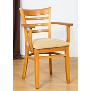 Benkel Seating Arm Chair; Cherry