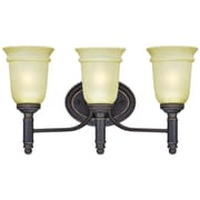Westinghouse Lighting Montrose 3 Light Wall Fixture