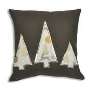 Brite Ideas Living Circa Christmas Reindeer Trees Outlined Throw Pillow