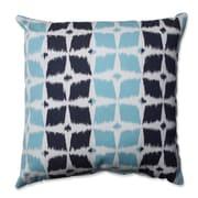 Pillow Perfect  Neo Motif Aqua Throw Pillow; 18'' x 18''