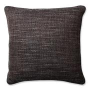 Pillow Perfect  Tweak Gravel Throw Pillow; 18'' x 18''
