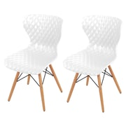 New Pacific Direct Camryn Side Chair (Set of 2); White