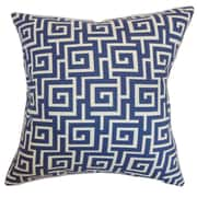The Pillow Collection Warder Cotton Throw Pillow; 20'' x 20''