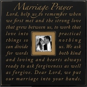 Dexsa ''Marriage Prayer'' Wood Picture Frame