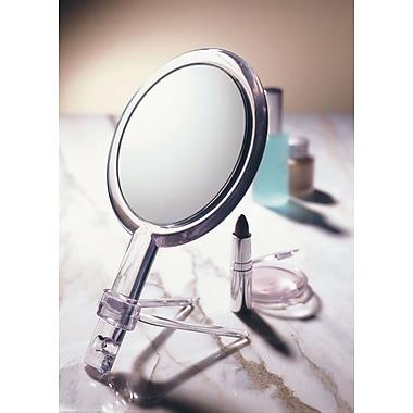 Floxite Home Travel Circle Light Mirror 2 75 Inch White