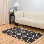 Harbormill Hand-Tufted Charcoal Area Rug; 3' x 5'