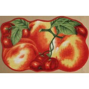 Daniels Bath Red Peach Kitchen Mat