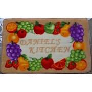 Daniels Bath Daniel's Fruits Kitchen Mat