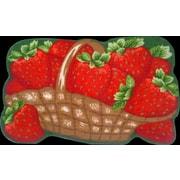 Daniels Bath Strawberries Kitchen Mat