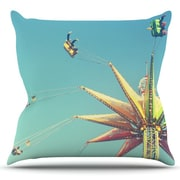 KESS InHouse Flying Chairs by Libertad Leal Outdoor Throw Pillow
