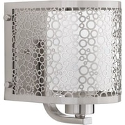 Progress Lighting Mingle 1 Light Bath Bar; Brushed Nickel