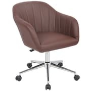 Porthos Home Seneca Mid-Back Office Chair; Espresso
