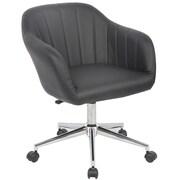 Porthos Home Seneca Mid-Back Desk Chair; Onyx