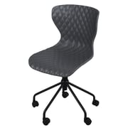 New Pacific Direct Camryn Mid-Back Task Chair; Gray