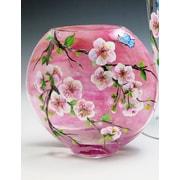 ChristinasHandpainted Beautiful Blossom Vase