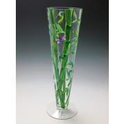 ChristinasHandpainted Beautiful Bamboo Vase