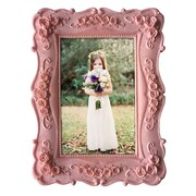 KingwinHomeDecor Resin Picture Frame; Pink