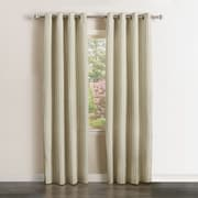 Best Home Fashion, Inc. Vertical Stripe Curtains Panel (Set of 2); 96'' L x 52'' W