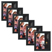 Uniek Ligne Wood Picture Frame (Set of 6); 8'' x 10''