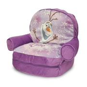 Idea Nuova Frozen Kids Novelty Chair w/ Storage Compartment