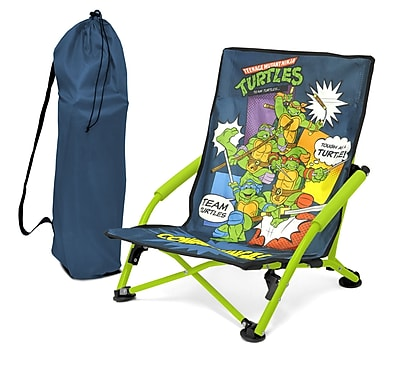 Idea Nuova Mutant Ninja Turtles 2 Piece Kids Camping Chair Set WYF078278670237