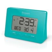 Oregon Scientific Dual Atomic Time Alarm Clock; Green