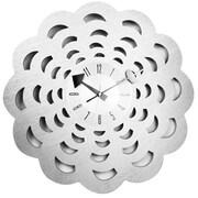 Mid Century Decor Floral Blossom 20'' Clock
