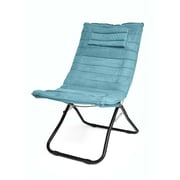 Urban Shop Memory Foam Lounge Chair; Teal