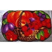 Daniels Bath Cherry Basket Kitchen Mat