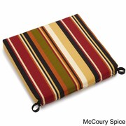 Blazing Needles Outdoor Patio Chair Cushion; Rolling Mead Veranda