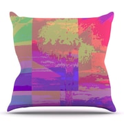 KESS InHouse Impermiate Poster by Nina May Outdoor Throw Pillow