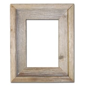 RusticDecor Barn Wood Reclaimed Wood Open Picture Frame; 6'' H x 4'' W x 2'' D