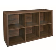 ClosetMaid Decorative Storage 30'' Cube Unit Bookcase; Dark Chestnut