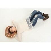 Wow Works LLC Chocolate Donut Floor Pillow