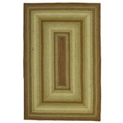 Homespice Decor Winter Wheat Green Indoor/Outdoor Area Rug; 4' x 6'