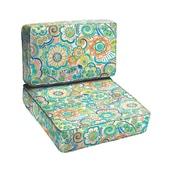 Mozaic Company Caribbean 2 Piece Outdoor Chair Cushion Set